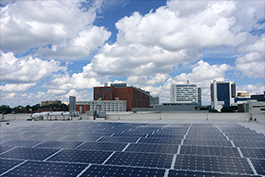 Innovation Center solar panels list