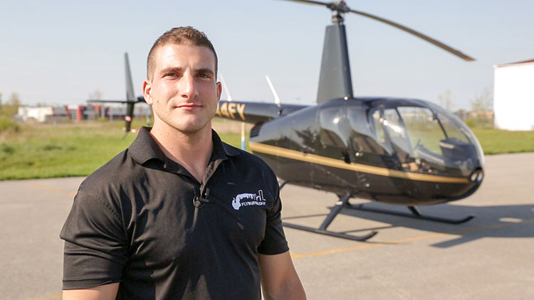 Mike Campbell brings helicopter tours to the sky over WNY.