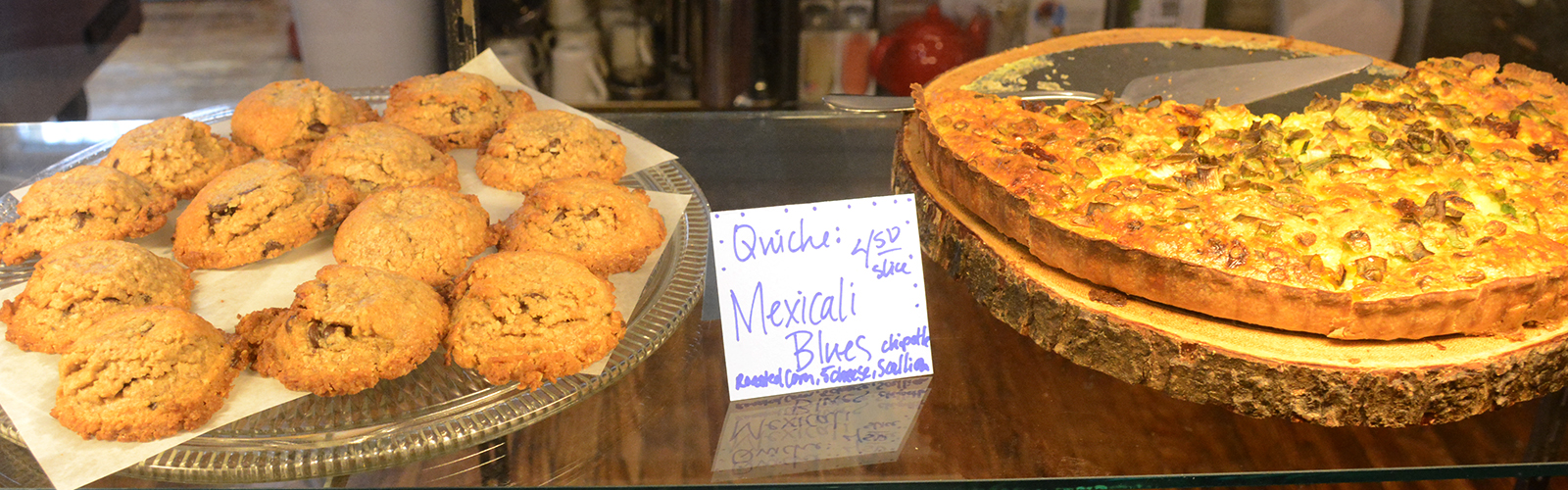 Om Nohm Gluten Free in Fredonia, N.Y., specializes in all-natural gluten-free food such as cookies and quiche, made with locally sourced ingredients.