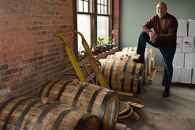Steve Bystran, managing member of the Barrel Factory.