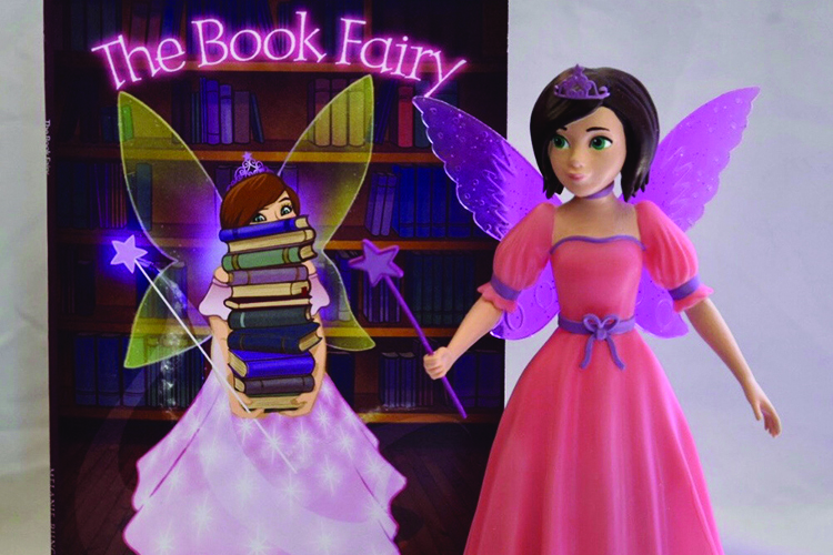 Lily, the Book Fairy, helps to make reading exciting for children.