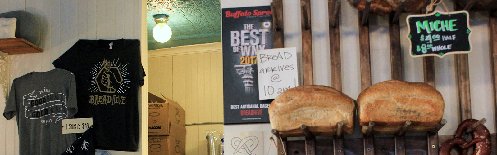 The BreadHive Bakery and Café is a staple of Buffalo's West Side.