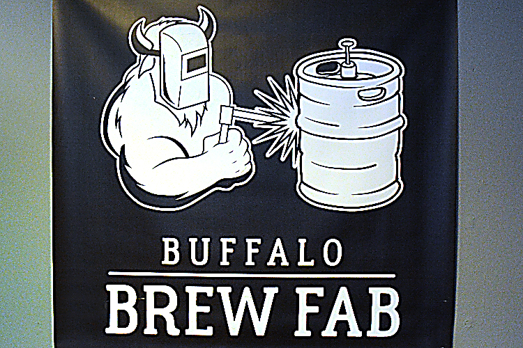 Custom artwork by Buffalo Brew Fab.