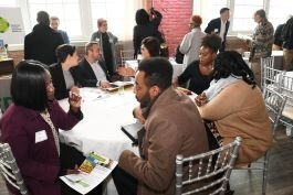 Roundtable discussions with providers helped underserved entrepreneurs to find information on how to get capital for their businesses.