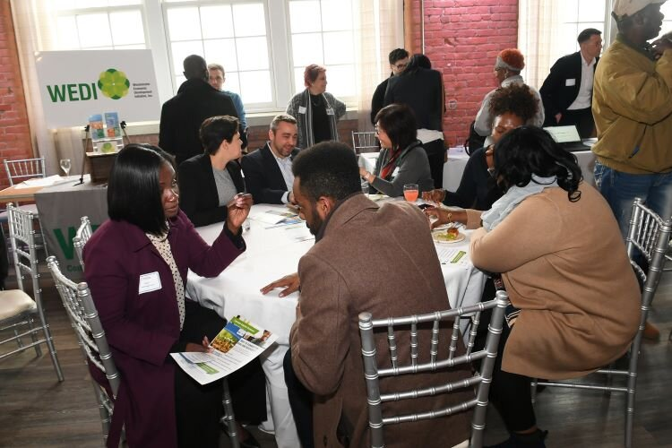 Roundtable discussions with providers helped underserved entrepreneurs find information on how to get capital for their businesses.