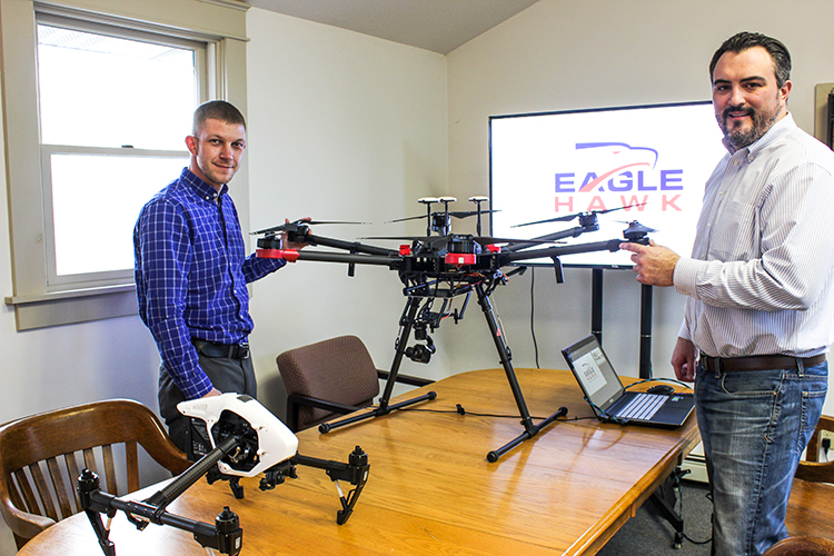 Willard Schulmeister and Patrick Walsh are the co-founders of EagleHawk.