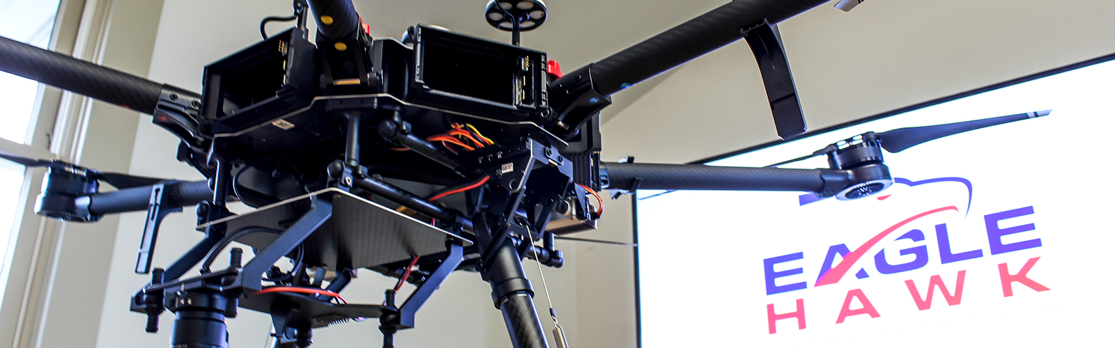 EagleHawk uses drones to conduct inspections and retrieve data for analysis.