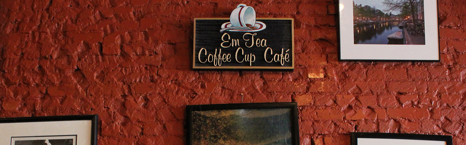 EmTea Coffee Cup Café is a quaint and inviting place for the community.