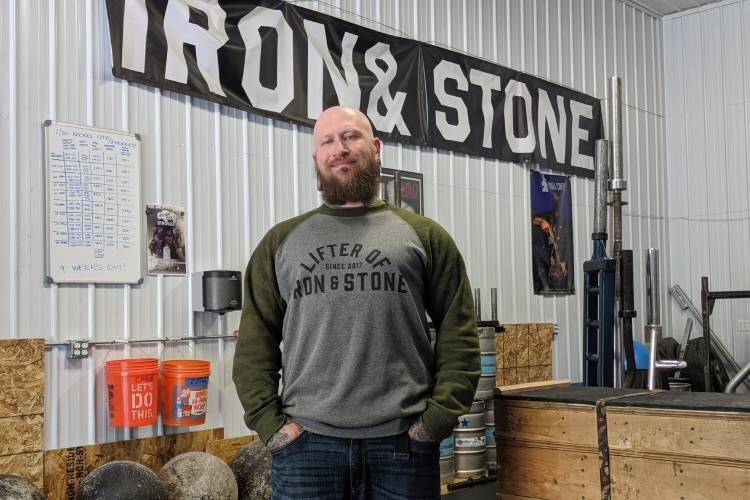 Iron & Stone Strength owner Eric Cedrone.