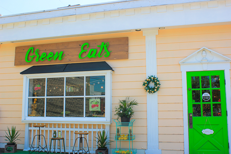 Green Eats Kitchen & Juice Bar, in Orchard Park, N.Y., offers cold-pressed juices and nutritious meal options.