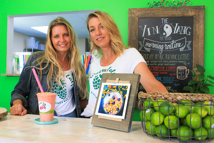 Joanne Woolsey-Lasky and Janine Sherk are the co-founders of Green Eats Kitchen & Juice Bar.