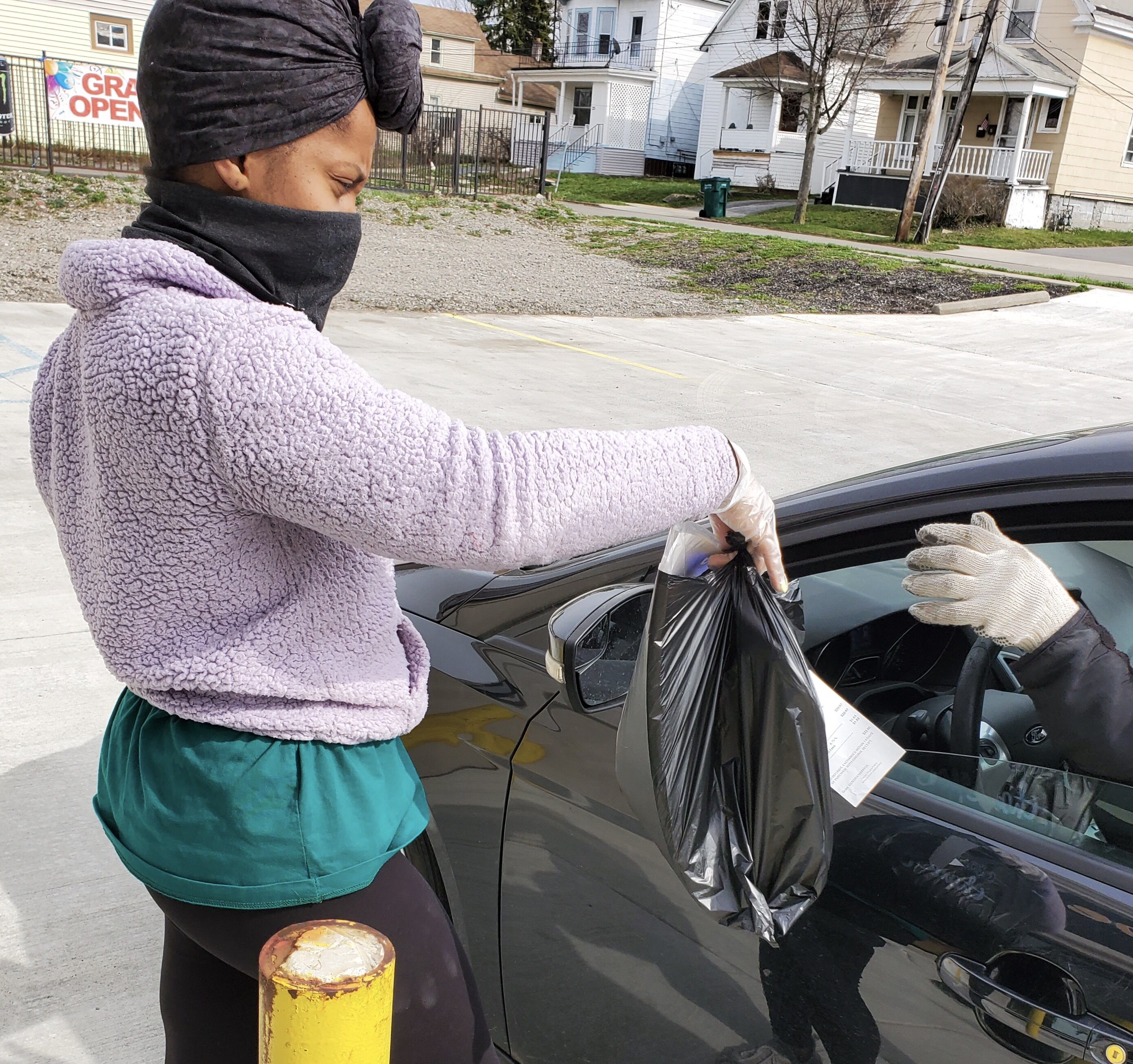 The Hair Hive, which has been designated as an essential business, is offering curbside pickup.