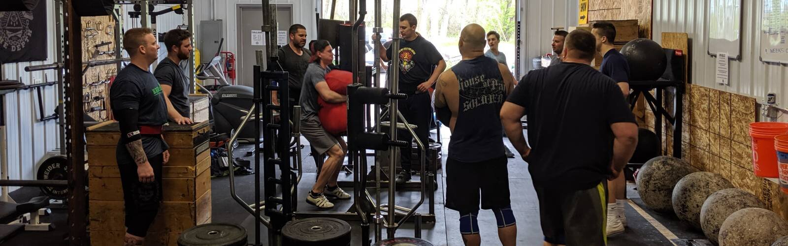 Eric Cedrone's Iron & Stone Strength gym has become the homefront for WNY's strongman community.