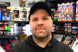 Jay Berent is a co-owner of Pulp 716 Coffee & Comics.