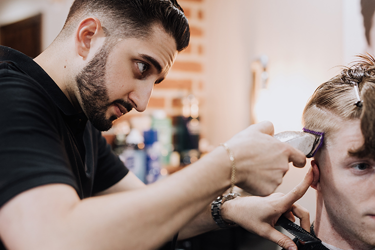 Jonathan Palmeri has been cutting hair since he was a teen. Earlier this year, he opened his second barbershop.