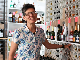 Wine purveyor Paula Paradise of Paradise Wine