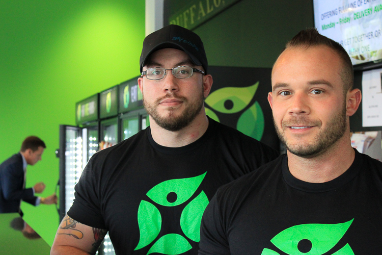 Luke Bright and Mike Del Zoppo are the owners and co-founders of Eat Rite Foods.