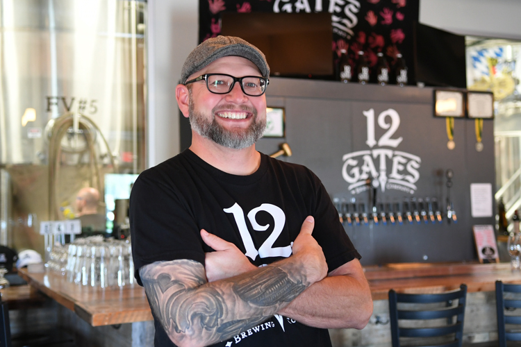 12 Gates Brewing Company Brewmaster Scott Shuler