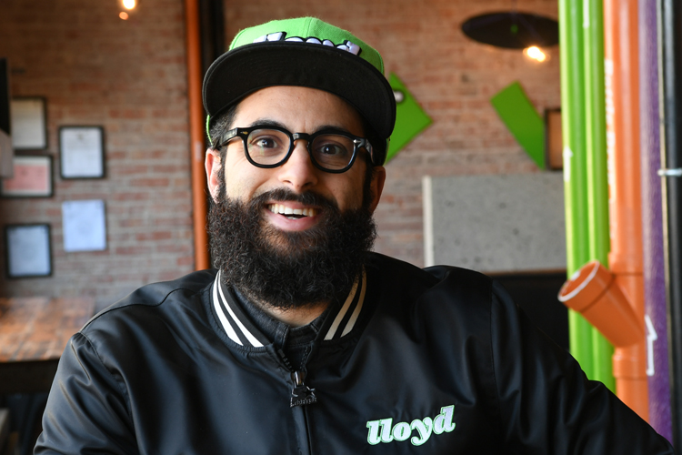 Peter Cimino of lloyd Taco