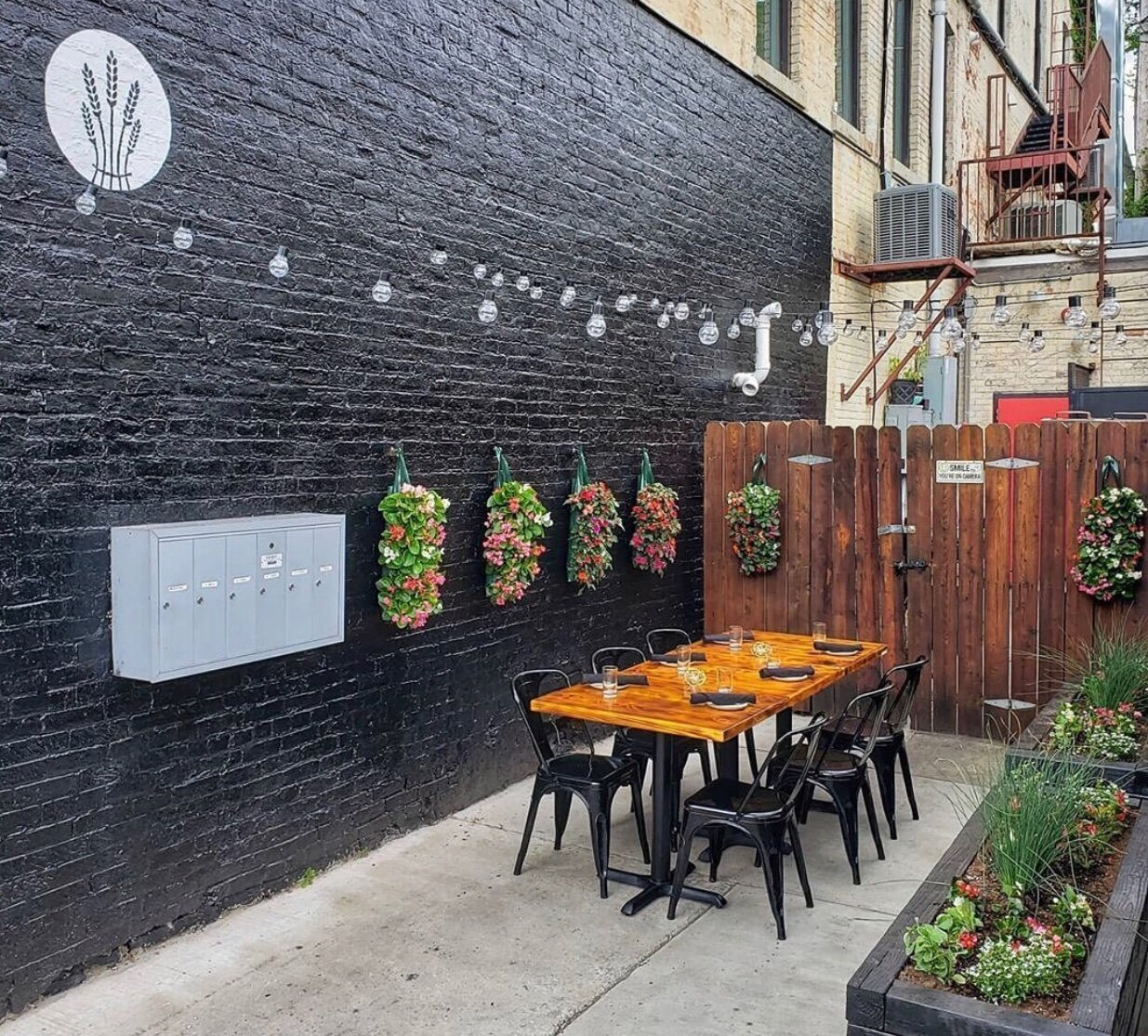 Marble + Rye was able to offer patrons patio seating during the warmer months of 2020.
