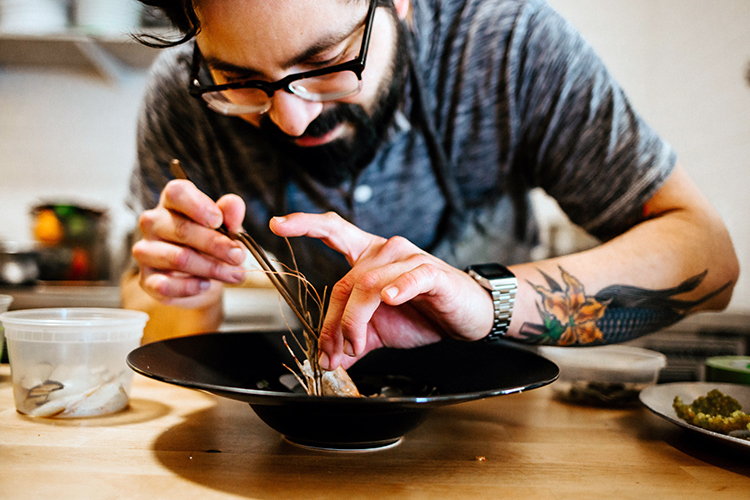 James Beard-nominated chef Victor Parra Gonzalez