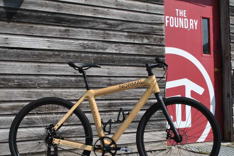 Normal Bicycles are built at the Foundry, a small business incubator on Northhampton Street in Buffalo.