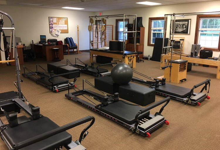 A view of the interior of Riester Physical Therapy Services in Williamsville, N.Y.