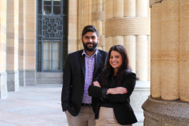 Olivia Goldstein and partner Shashank Roy launched RepHike last year.