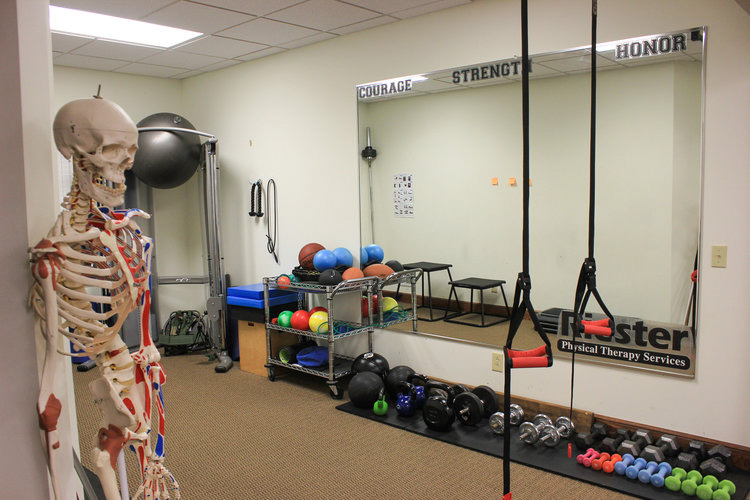 A wide variety of equipment is used for the specialized needs of patients at Riester Physical Therapy Services.
