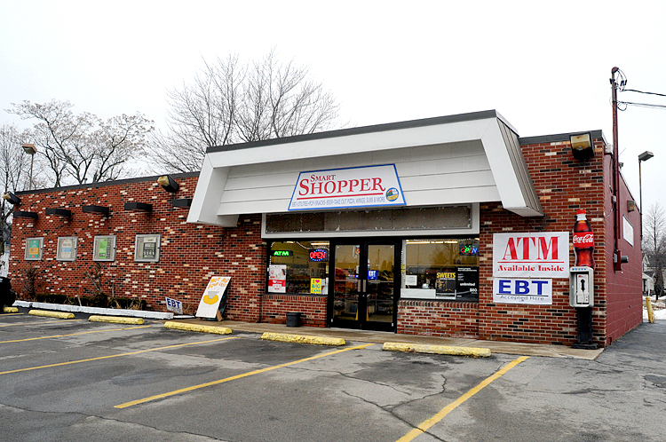 Ivan Rippy renovated a former 7-Eleven chain store into his convenience store, Smart Shopper.