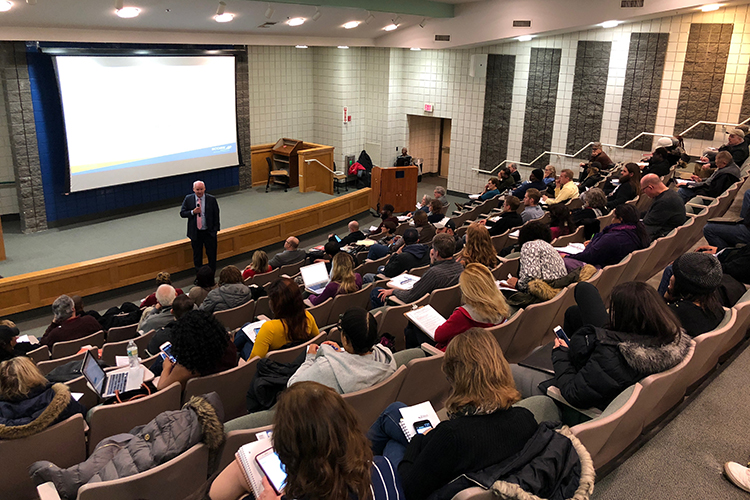 More than 110 individuals have attended each night of the Straight Talk event, hosted by the SBA's Buffalo district office and SCORE's Buffalo Niagara chapter.