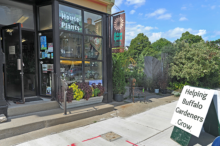 Urban Roots is a community cooperative garden center located at 428 Rhode Island St. on Buffalo's West Side.
